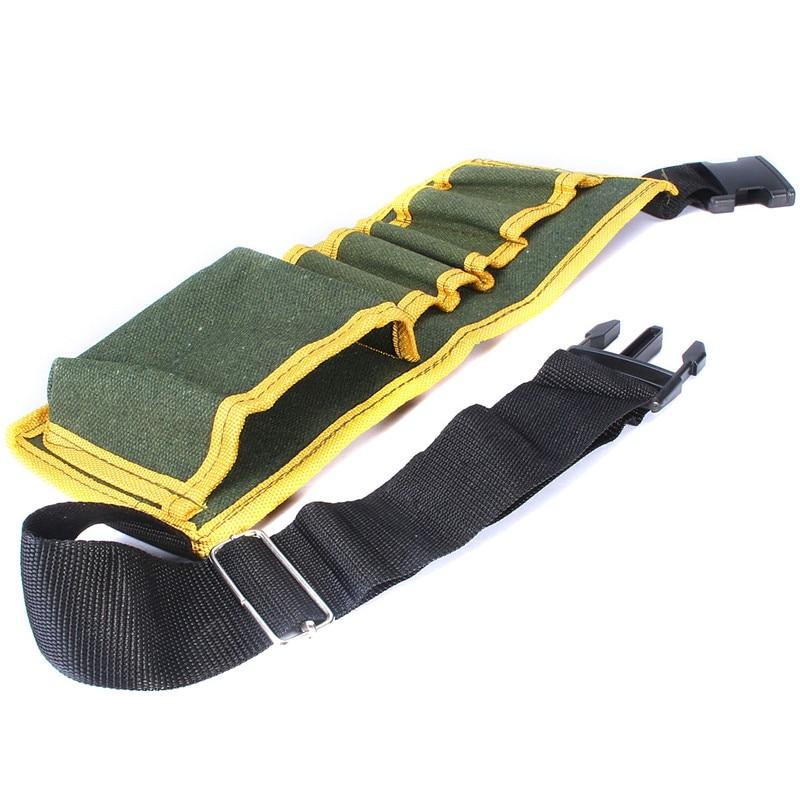 Multifunction Durable Hardware Mechanics Canvas Tool Bag Safe Belt Pouch Utility Kit Pocket Organizer Bags