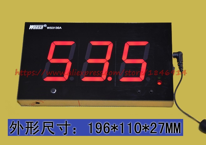 Digital Tube Noise Meter Large Screen Activity Specific DB Meter Noise Tester WS3130A