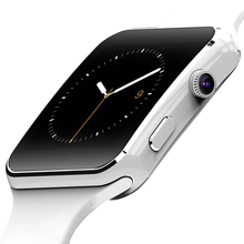 MTK6260A FLOVEME E6 Reloj Inteligente Android 1.54 pulgadas LED Reloj de Pulsera Electrónica Inteligente Smartwatch Podómetro Con El Reloj de La Cámara