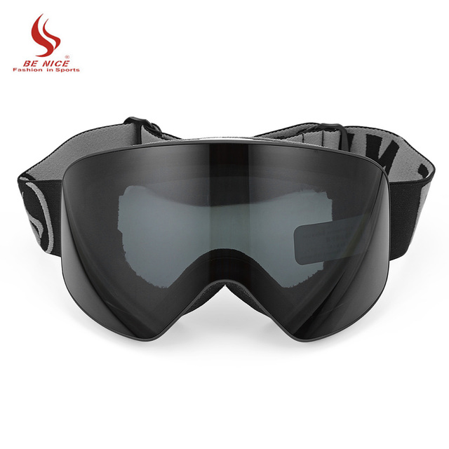 b587dfef123 BENICE SNOW - 5100 Unisex Spherical Anti-Fog Lens Snowboarding Skiing  Goggles Climbing Ski Glasses Eyewear