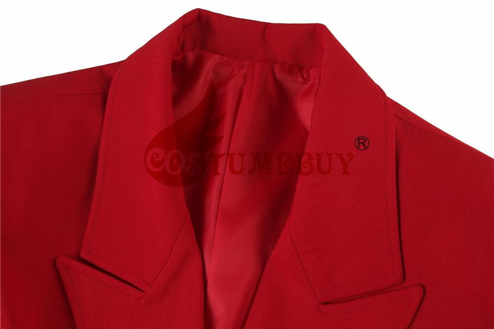 Phoenix Arthur Fleck Traje Jaqueta Casaco Vermelho