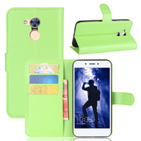 For Huawei Honor 6A Case Litchi Texture Wallet Style Flip Leather Cover Case For Huawei Honor