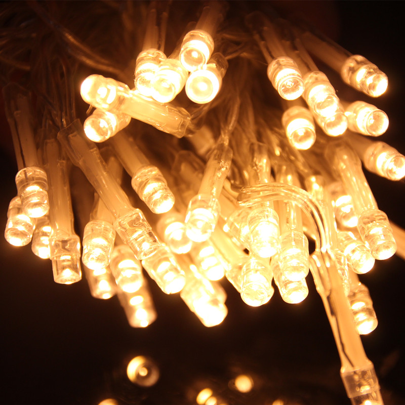 5M 50LEDs LED String Light Portable Indoor Light Fairy Lights 3XAA Battery Operated Christmas New Year Wedding Decoration