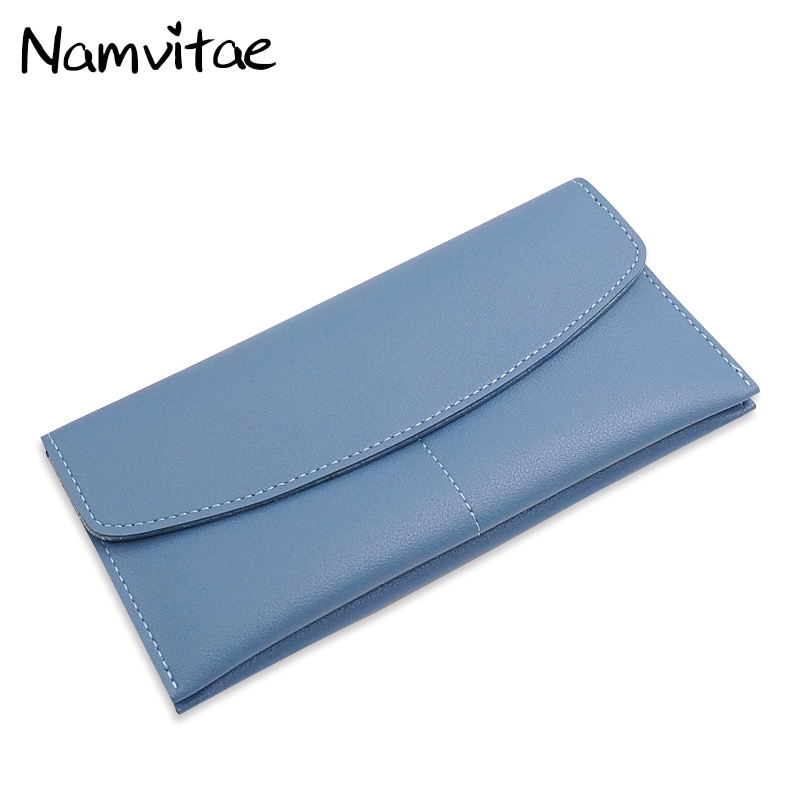 Women Wallets Long Purse Multiple Cards Holder Clutch Fashion Female Standard Leather Wallet Colorful Ladies Casual Coin Purses