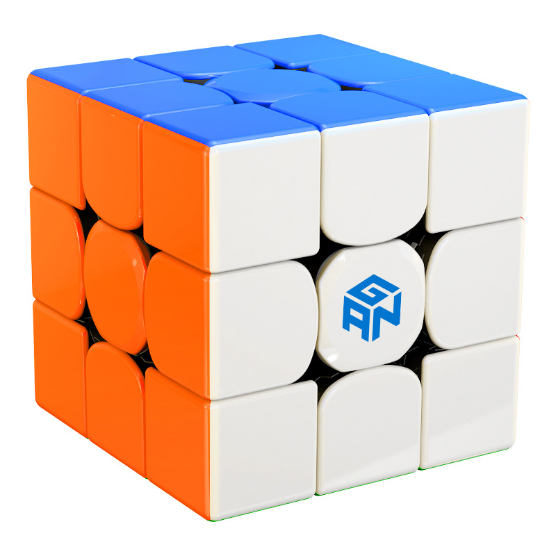 Independent New Original Ganspuzzle Gan356r 3x3x3 Magic Speed Cube Stickerless Professional Gan 356r Puzzle Cubes Educational Toys For Child To Invigorate Health Effectively