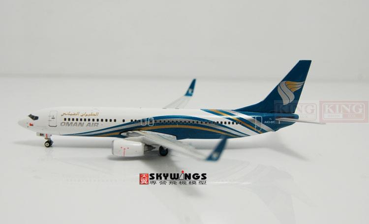 Phoenix 10746 Oman B737-800/w A4O-BR 1:400 commercial jetliners plane model hobby sale phoenix 11221 china southern airlines skyteam china b777 300er no 1 400 commercial jetliners plane model hobby