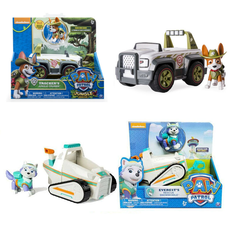 Genuine Original Paw Patrol Zuma S Hovercraft Puppy La Patrulla Canina Toy Vehicle Car Dog Patrol Everest Canine Toy Original