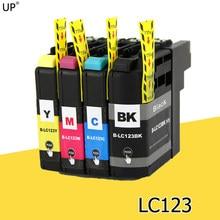 LC123 BK/C/M/Y полная совместимость картридж для брата DCP-J4110DW J132W J152W J552DW J752DW mfc-J4510DW MFC-J4610DW