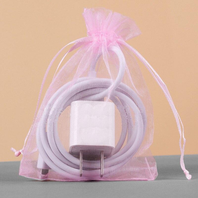 014a68a62 Bolsa de Organza 15x20 cm de embalaje de joyas pantalla bolsas de Navidad  de la boda de regalo de Organza de regalo bolsas joyería bolsas 100  unids/lote en ...
