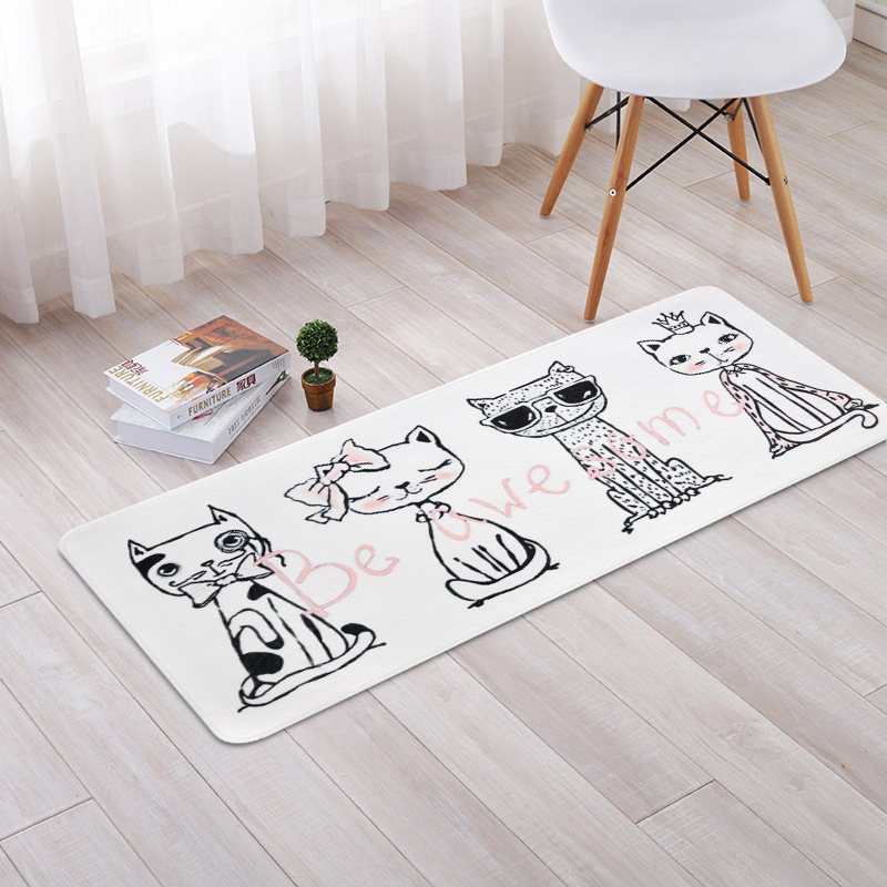 Personality Cartoon Hand-drawn Kids Carpets For Child Living room Game Rug Baby bedroom Crawl Mat Kids Room play Decor Carpet