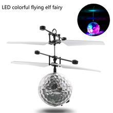 RC игрушки EpochAir RC летающий шар, радиоуправляемый Дрон вертолет мяч светодиодный освещения для детей и подростков красочные полетах для детей Q30 AUG9