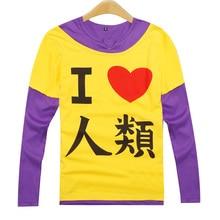 Japanese font b Anime b font No Game No Life Sora T shirts font b Cosplay