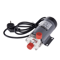 304 stainless head Magnetic Pump MP 15RM Homebrew, Food Grade High Temperature Resisting 140C beer Magnetic Drive Pump Home Brew