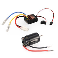 Surpass Hobby 550 27T Brushed Motor 60A ESC with 5V/2A BEC for HSP HPI Kyosho TRAXXAS 1/10 RC Crawler Off road Climbing Car