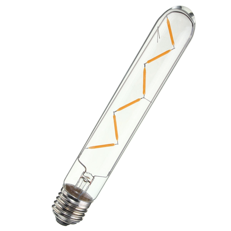 Vintage Style COB LED Lamp Bulb E27 E26 6W Dimmable Filament Edison Retro LED Light Bulb 220V/110V Tube Bulb 2700k dimmable 1w 2w 3w 4w 6w led vintage filament bulb t20 t25 t30 tubular style warm white 110v 220vac e26 e27