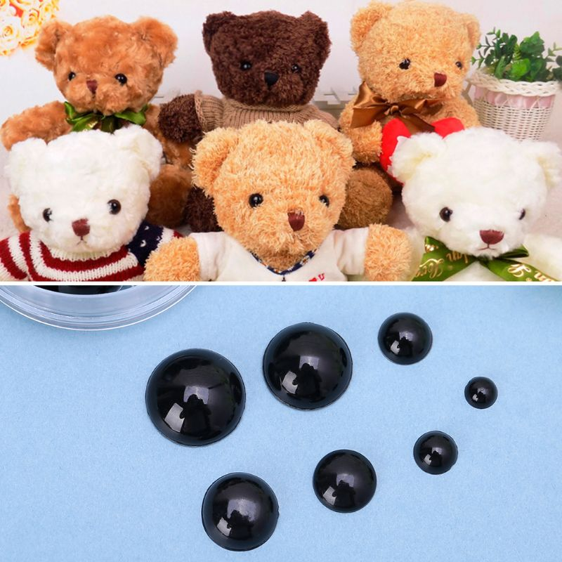 226Pcs 6mm/8mm/10mm/12mm/14mm/16mm/18mm DIY Doll Puppet Plastic Eyes Safety Craft For Handmade Teddy Bear Children Kids Toy