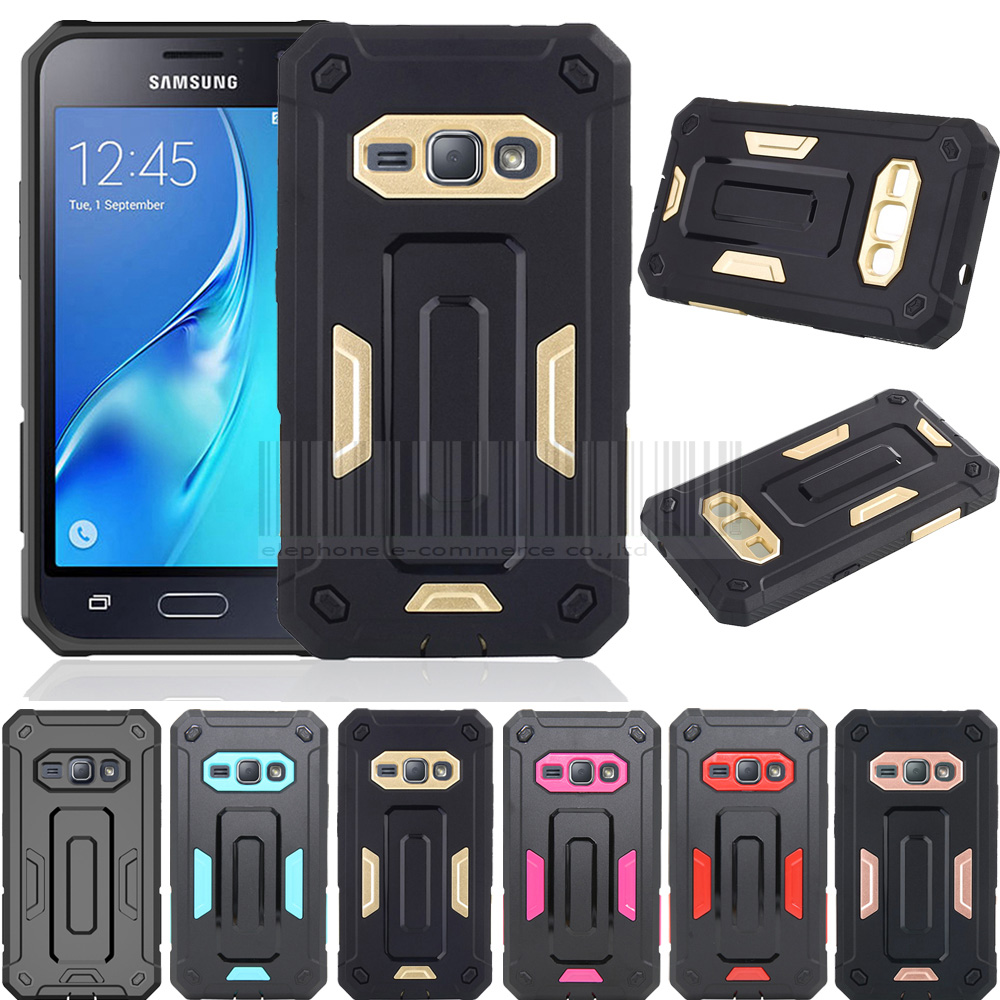 Shockproof Luxury Hybrid Tough Jazz Armor Slim Defender Protective Back Case Cover For Samsung Galaxy Express 3