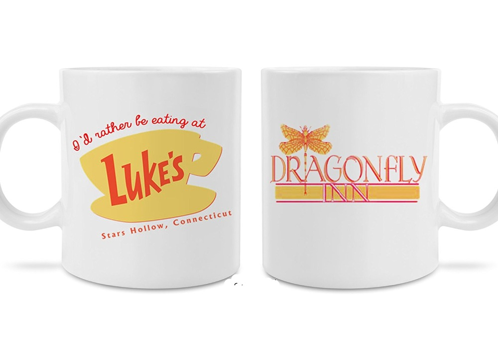 Luke 39 s and dragonfly inn coffee mugs perfect gift present for Best coffee mugs for home