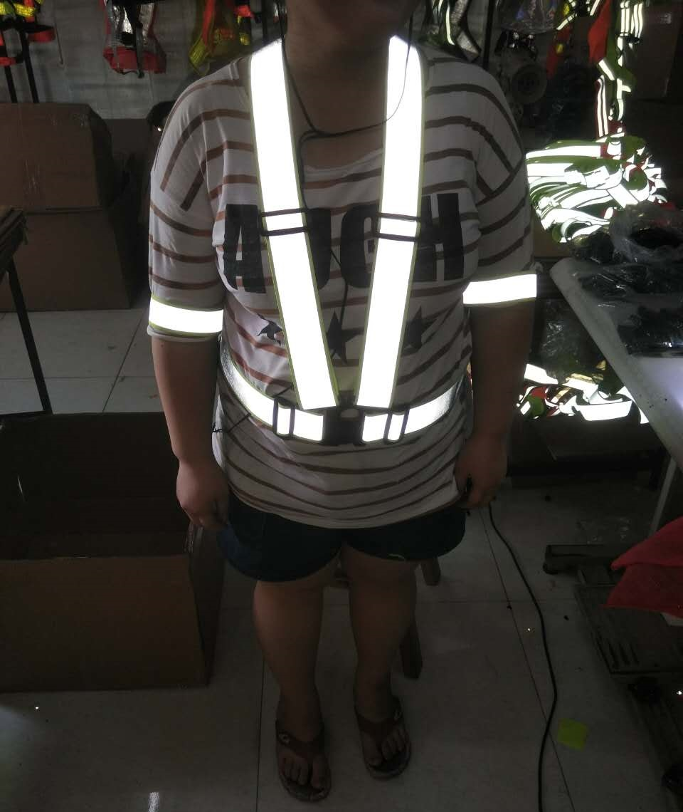 Outdoor Running Cycling Vest font b Harness b font Reflective Belt font b Safety b font