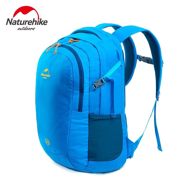 купить Naturehike Unisex Waterproof Nylon 35L Ultralight Portable Computer Bag Outdoor Sports Mountaineering Backpack Climbing Bags недорого
