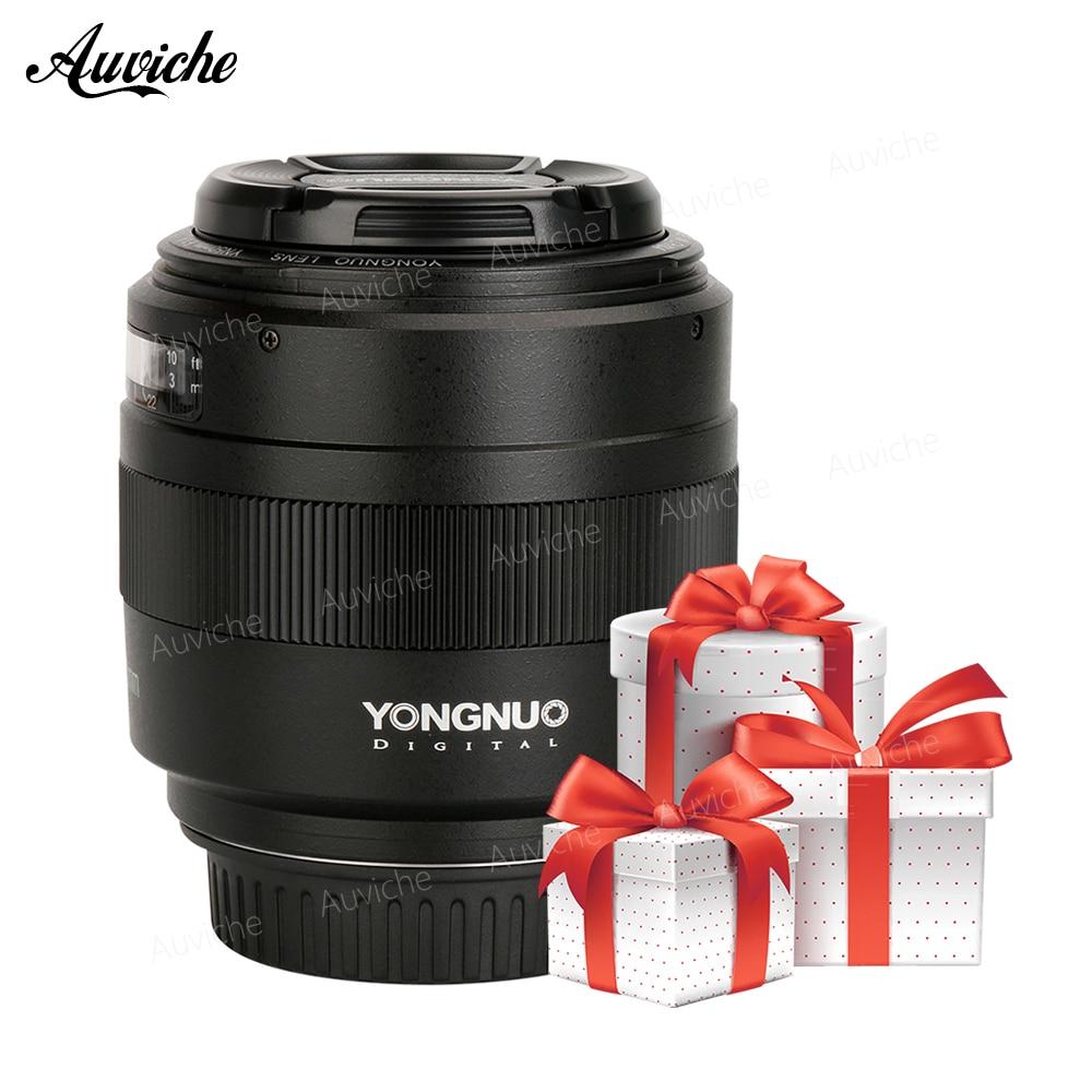 YONGNUO YN50mm Lente YN50mm F1.4 Standard Prime Lens Grande Apertura Auto Lente di Messa A Fuoco per Canon EOS 70D 5D2 5D3 600D DSLR Camera