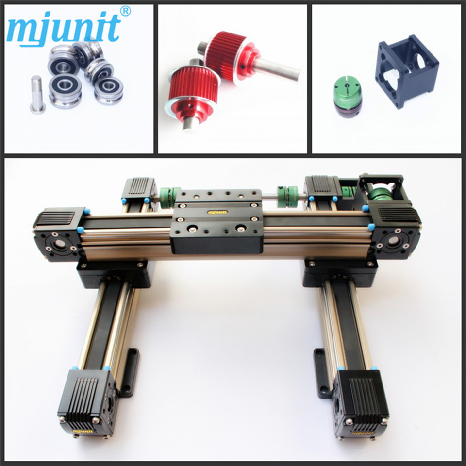 Industrial Mechanical Kit CNC Router Laser or Plasma linear rail Linear Motion Ball Bearing Guide Block Slide Rail Belt Warranty ball linear rail guide roller shaft guideway toothed belt driven