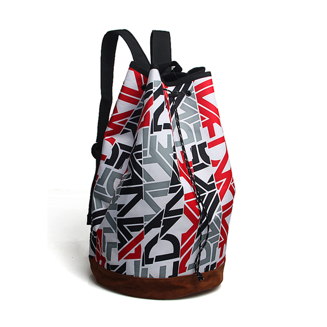 New Brandsoundbyte Fashion Printing Canvas Duffel Bag Bicycle Sports Backpack Drum Travel Sd0671