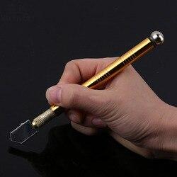Profissional de metal lidar com aço vidro strass auto-lubrificante alimentação de óleo derrubado cortador de vidro ferramenta de vitrificação de artesanato de corte