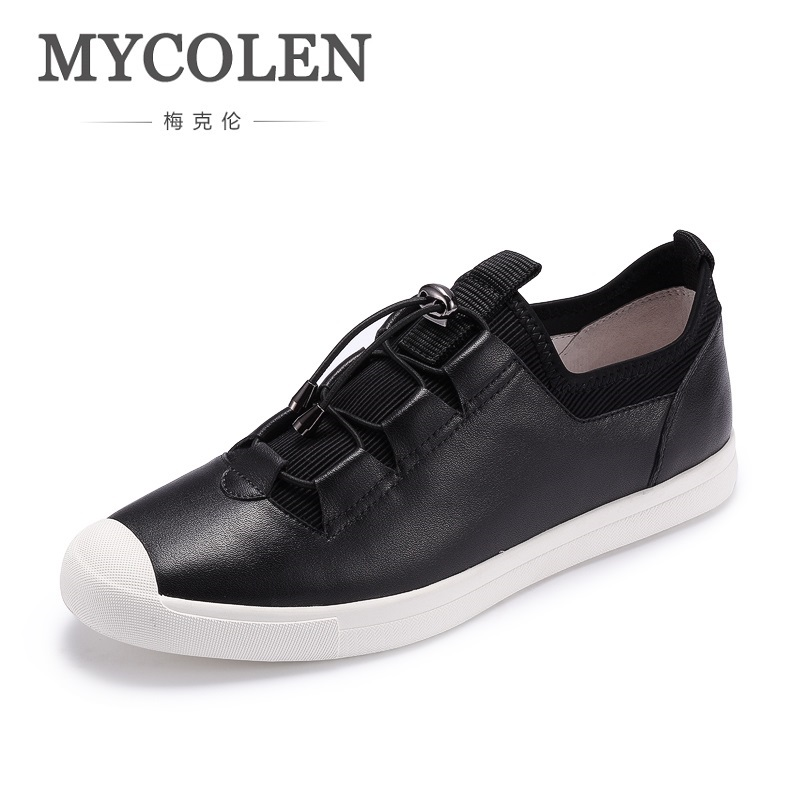 MYCOLEN 2018 New Spring/Autumn Classic Men Casual Shoes Comfortable Flat Shoes Fashion Breathable Wear-Resistant Shoes 2017 fashion red black white men new fashion casual flat sneaker shoes leather breathable men lightweight comfortable ee 20