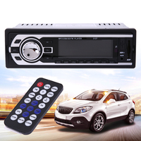 12V Car Stereo FM Radio In Dash MP3 Audio Player Support SD MM Card U Disk