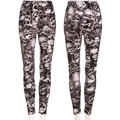 100% Brand New Sexy Fashion Women Stretchy Leggings Skinny Skull Printed Full Length Pants Hot