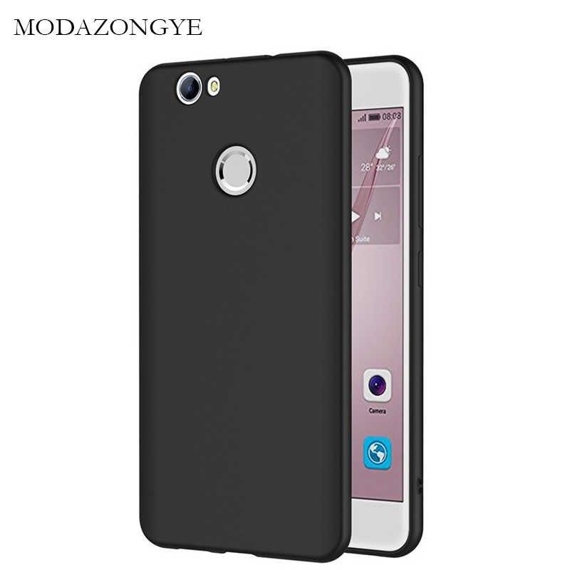 Pour Huawei Nova coque Huawei Nova coque souple Silicone coque arrière téléphone étui pour Huawei Nova 1 Nova1 CAN-L11 noir