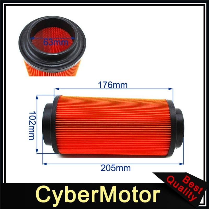 ATV Air Filter For #7080595 Polaris Sportsman 325 550 570 600 700 800 850 1000