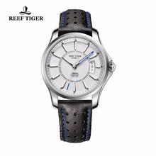Reef Tiger/RT New Designer Sports Watches With Big Date And Super Luminous Mens Watch Steel Automatic Watch RGA166