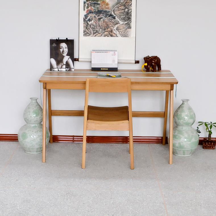 Table Cheap White Oak Solid Wood Desk Computer Study Japanese Style  Furniture In Computer Desks From Furniture On Aliexpress.com | Alibaba Group