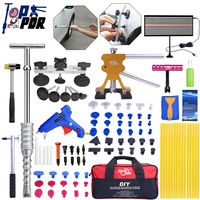 PDR car repair tools Dent lifter Dent Puller Glue gun Line Board Slide hammer Suction Cup Paintless Dent Repair Kits