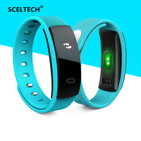 SCELTECH QS80 Heart Rate Monitor Smart Band Blood Pressure Monitor Smart Wristband Fitness Tracker IP67 Bracelet