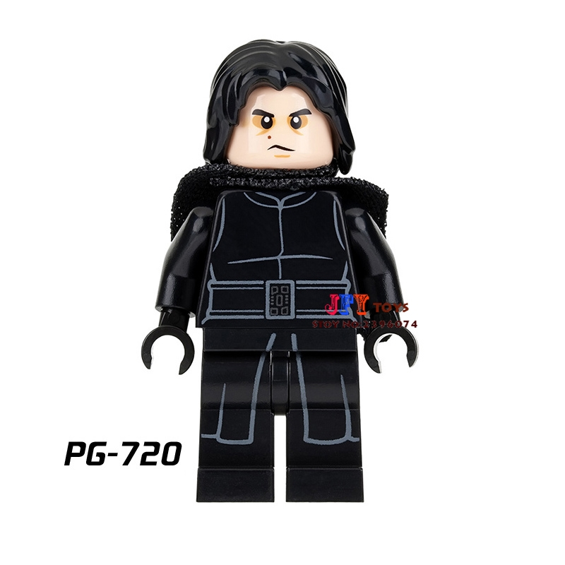 Single star wars super heroes Kylo Ren Ben Solo building blocks models bricks toys for children kits brinquedos menino