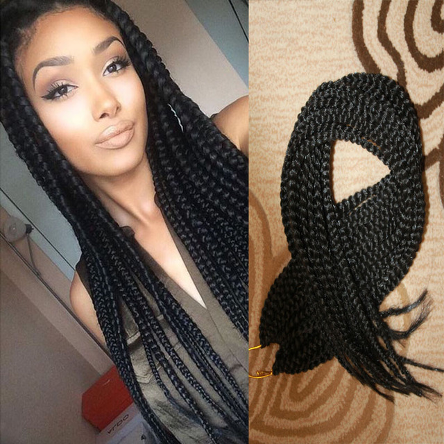 Box Braids Crochet Braids Synthetic Hair Jamaican Hair Extensions