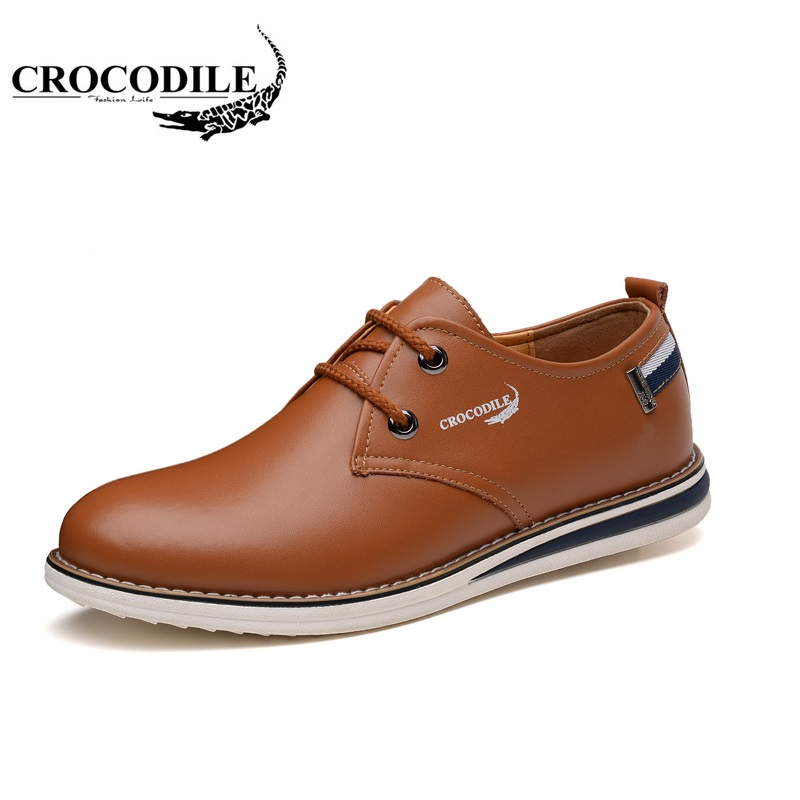Crocodile 2018 Spring New Men Running Shoes Outdoors Riding Travel Sport Shoes Abrasion Resistant Breathable Male Sneaker 2017 new spring imported leather men s shoes white eather shoes breathable sneaker fashion men casual shoes