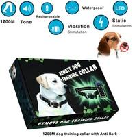 Training Collar For Small Medium Sized Dogs Humane Safe Shock Anti Bark Collar Stop Barking With