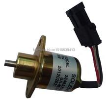 Fuel Shutdown Solenoid Valve SA-4934-12,2848A279,2848A275,2848A271,1457906 for PERKINS 12V