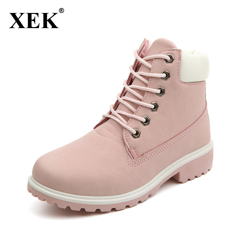 2017 Women boots Fashion Martin Snow Boots Outdoor cheap timber boots Lovers Autumn Winter shoes ST01