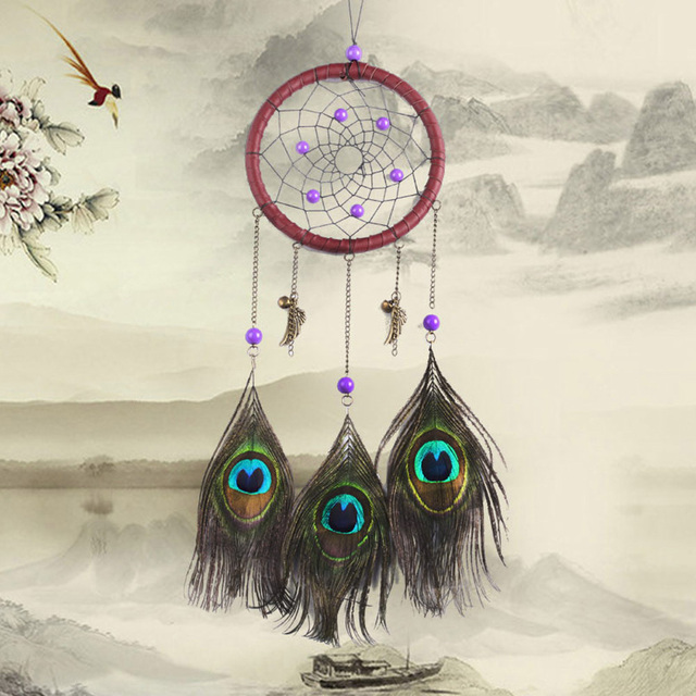 Aliexpress Buy American Indian Style Purple Bead Dream Catcher Impressive Where To Buy Dream Catchers In Stores