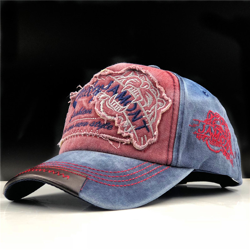 100% washed cotton men   baseball     cap   fitted   cap   snapback hat for women gorras casual casquette embroidery letter retro   cap