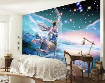 3d Habitacion De Papel Pintado Personalizado Foto Mural No Tejido