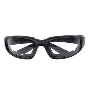 Image 5 - Motorcycle Windproof Dustproof Riding Glasses Padded Comfortable Clear PVC Sunglasses Mirror UV400 Lenses Protection Goggles