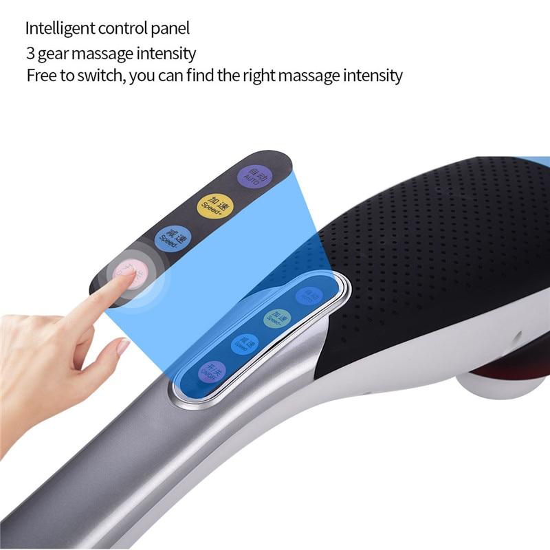 Pescoço elétrico massageador de mão martelo volta