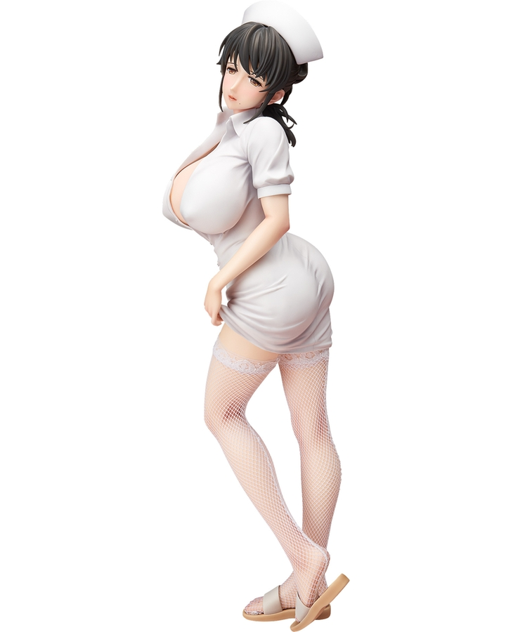 Freeing Akawa Asami 42cm Japanese Sexy Anime Figure Nurse Action Figure Collectible Model Toys For Boys 22cm japanese sexy anime figure native saitom nurse momoi figure examination chair ver scale pvc sexy figure model