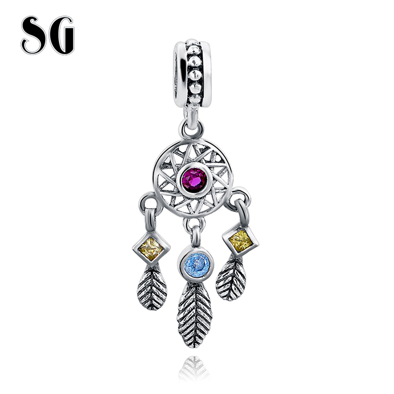 100% Réel 925 En Argent Sterling Avec CZ Pendentif Charme Perles Fit Original pandora Bracelet Collier De Mariage pour les Femmes bijoux Cadeau